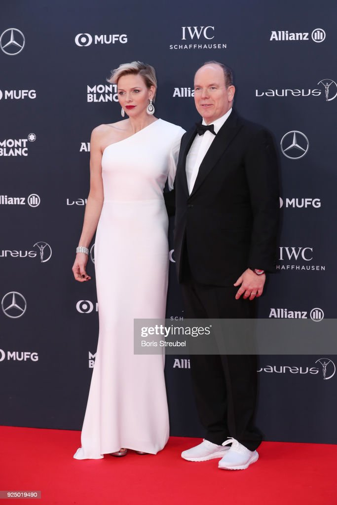 Red Carpet - 2018 Laureus World Sports Awards - Monaco : Foto jornalística
