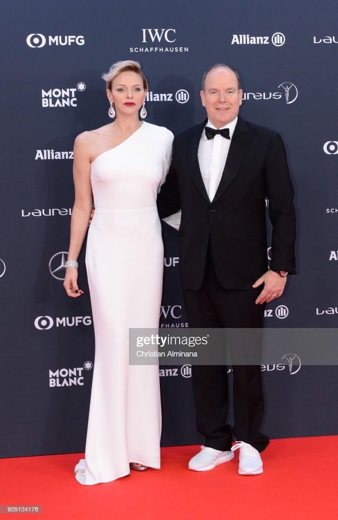 Red Carpet - 2018 Laureus World Sports Awards - Monaco : News Photo