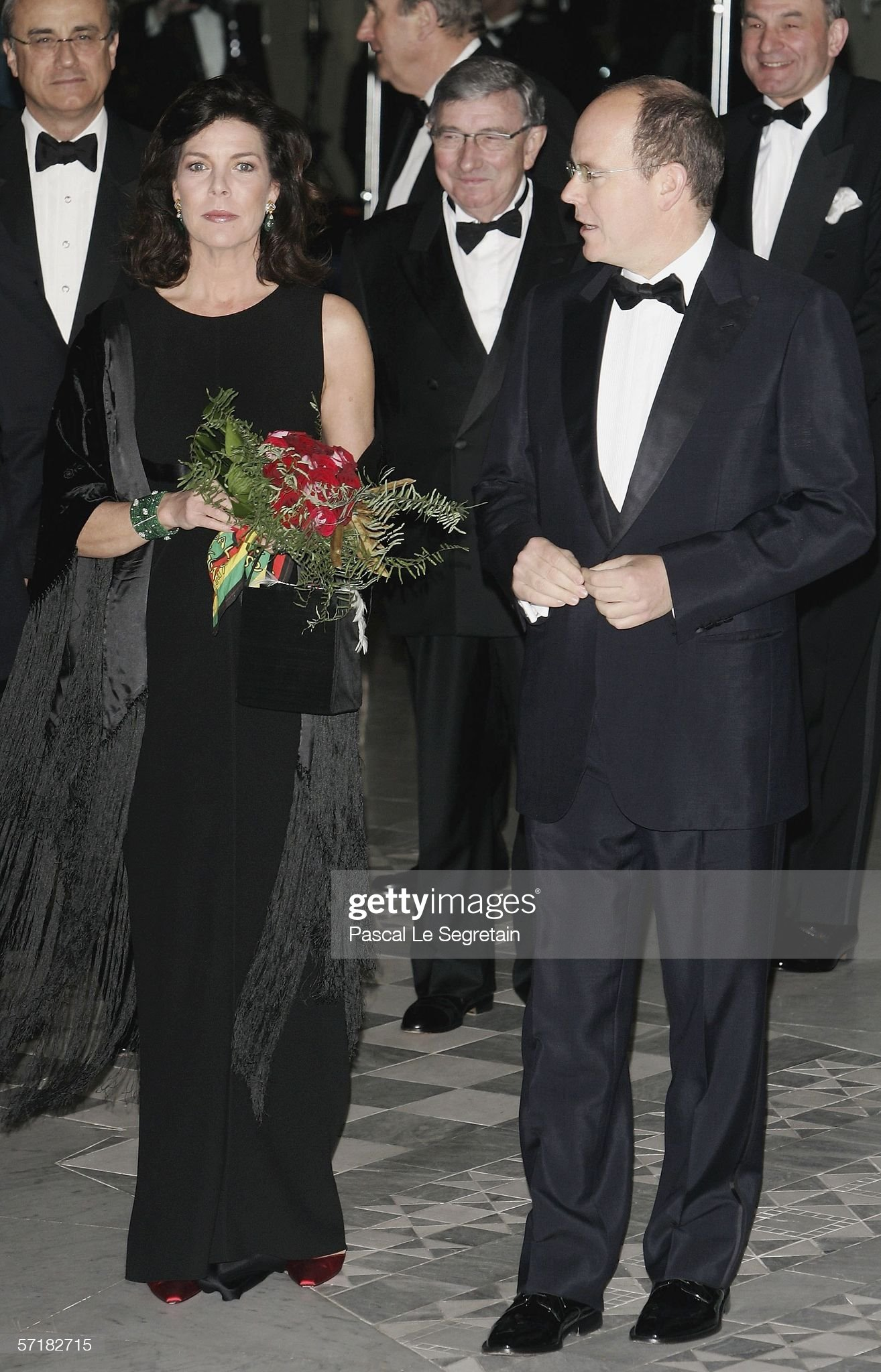 Monte Carlo Rose Ball - Arrivals : News Photo