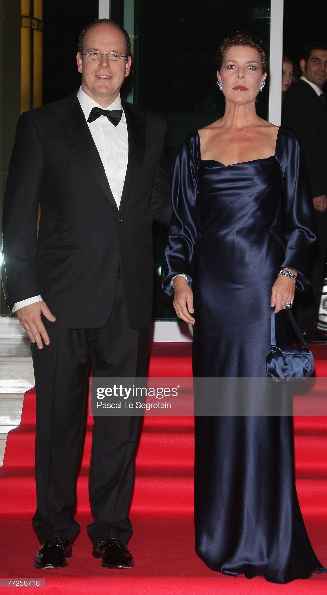 Вечерние наряды Принцессы Каролины. International Rendez Vous Cinema Verite 2007 -Gala Dinner- Arrivals : News Photo