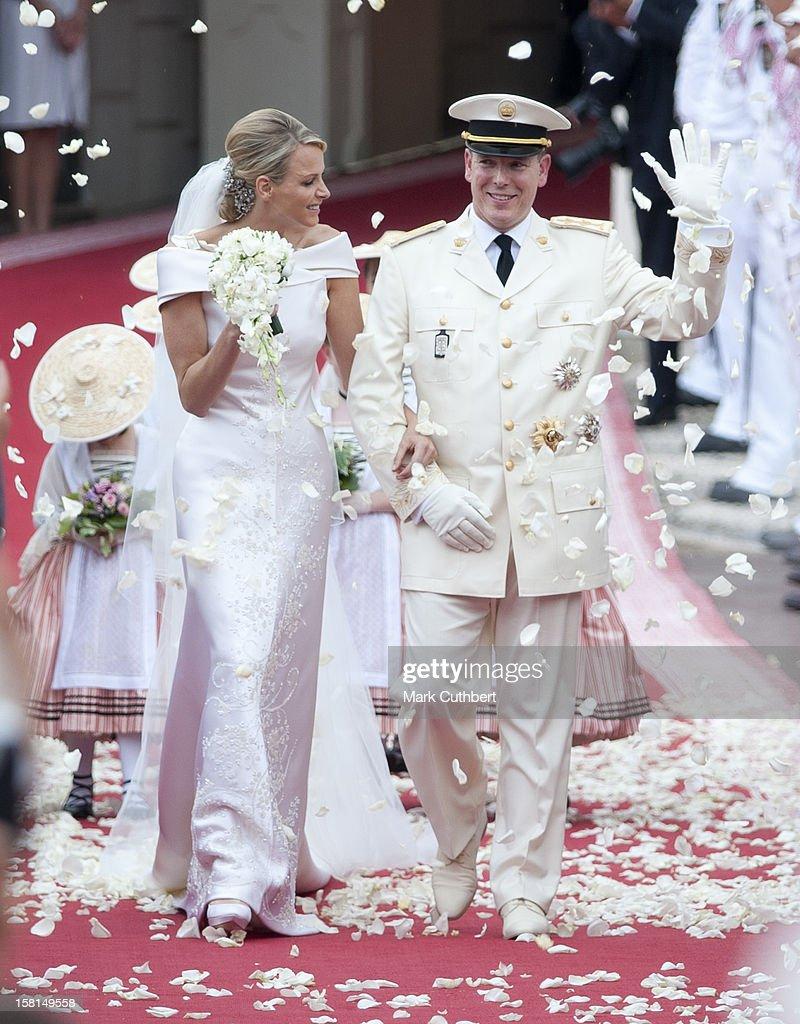 Monaco Royal Wedding : ニュース写真