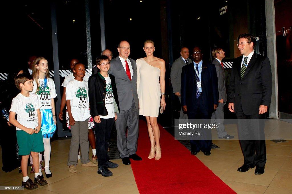 Prince Albert And Princess Charlene Of Monaco Attend 'One Billion Tree Campaign' Gala : News Photo