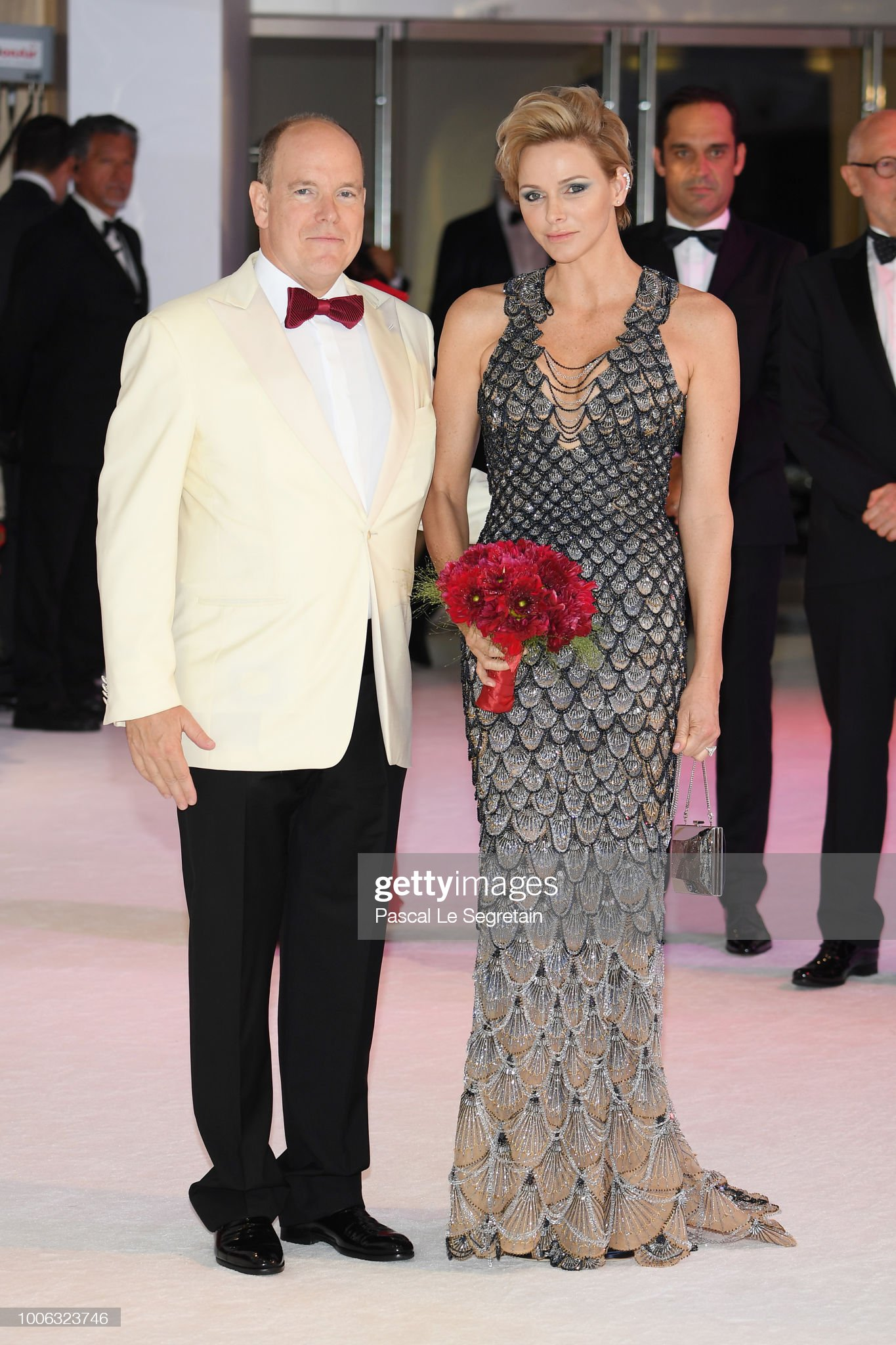 70th Monaco Red Cross Ball Gala In Monaco : News Photo