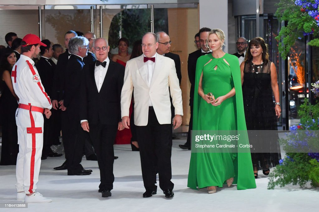71th Monaco Red Cross Ball Gala In Monaco : News Photo