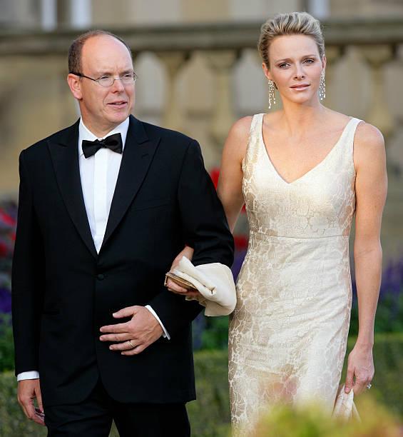 Prince Albert II And Princess Charlene of Monaco Attend Yorkshire ...