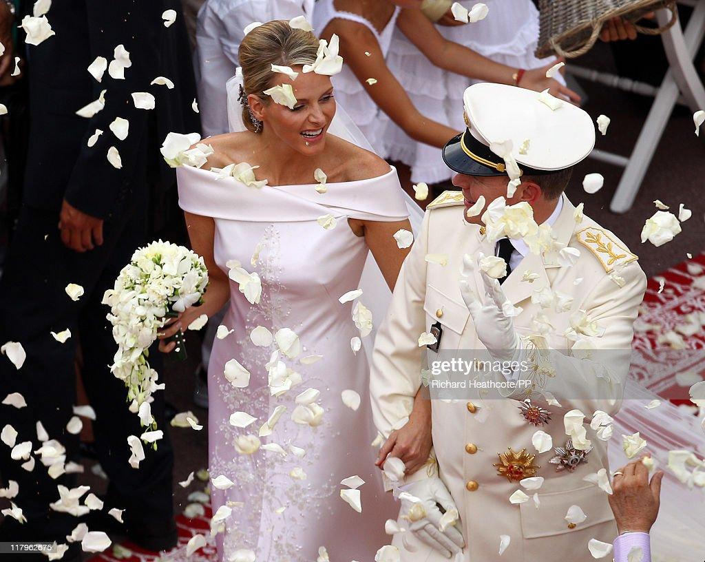 Monaco Royal Wedding - Premium Coverage - The Religious Wedding Service : News Photo