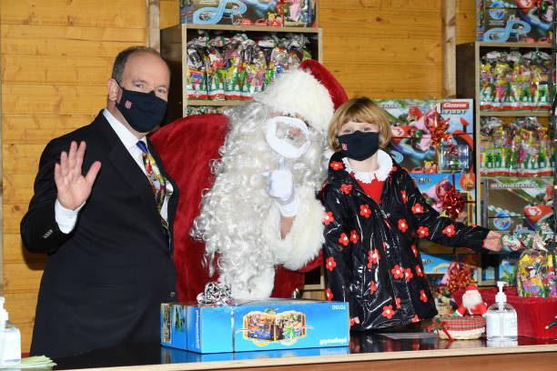 MCO: Christmas Gifts Distribution At Monaco Palace In Monte-Carlo