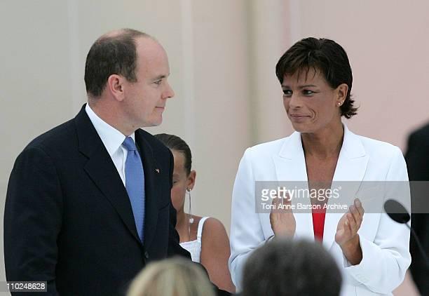 HSH Prince Albert II of Monaco and Princess Stephanie of Monaco