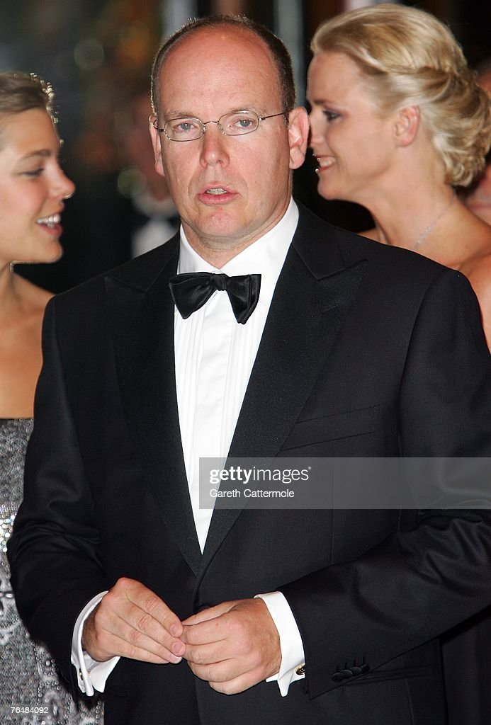 Prince Albert II of Monaco arrives at the 'Unite For A Better World Gala Dinner' on September 2, 2007 at the Hotel de Paris in Monte Carlo, Monaco. The gala dinner is attended by over 350 guests, which will raise funds for the Amade Mondiale, the Nelson Mandela Foundation, the Nelson Mandela Children's Fund, and The Mandela Rhodes Foundation.