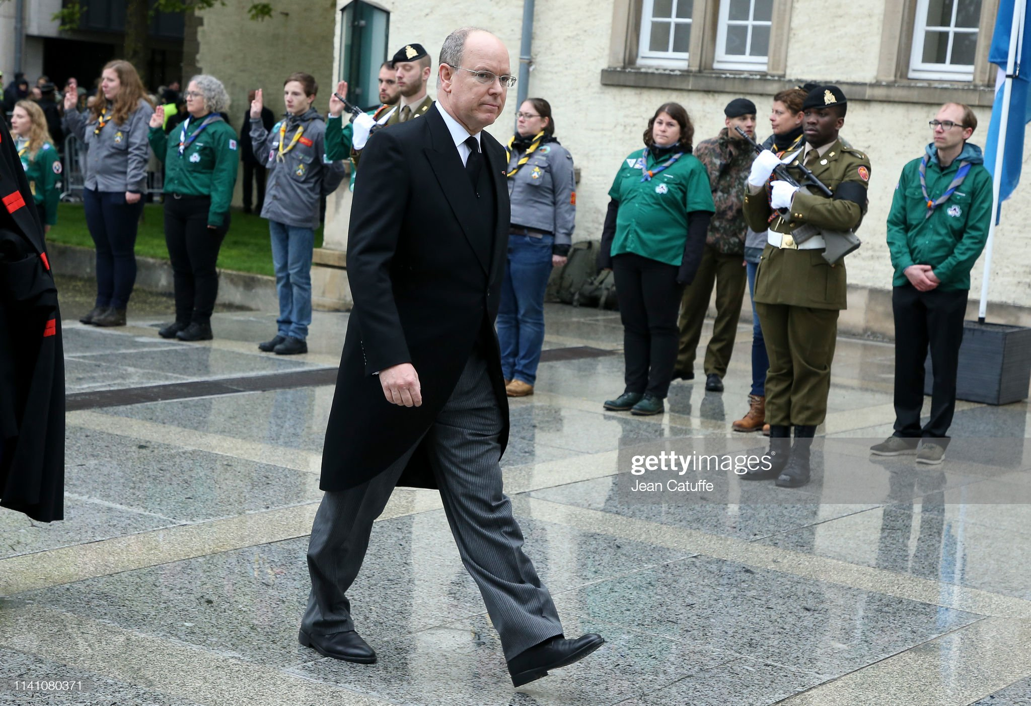 Похороны Великого Герцога Жана https://media.gettyimages.com/photos/prince-albert-ii-of-monaco-arrives-for-the-funeral-of-grand-duke-jean-picture-id1141080371?s=2048x2048