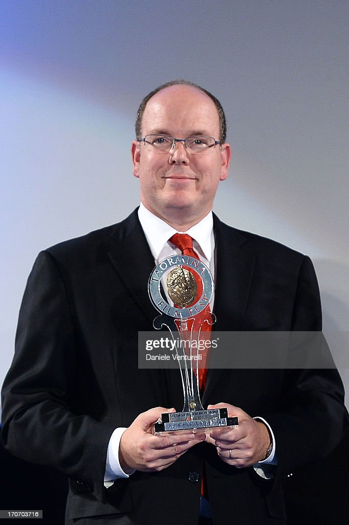 Prince Albert II of Monaco attends 'Taormina FilmFest Humanitarian Award' on June 16, 2013 in Taormina, Italy.
