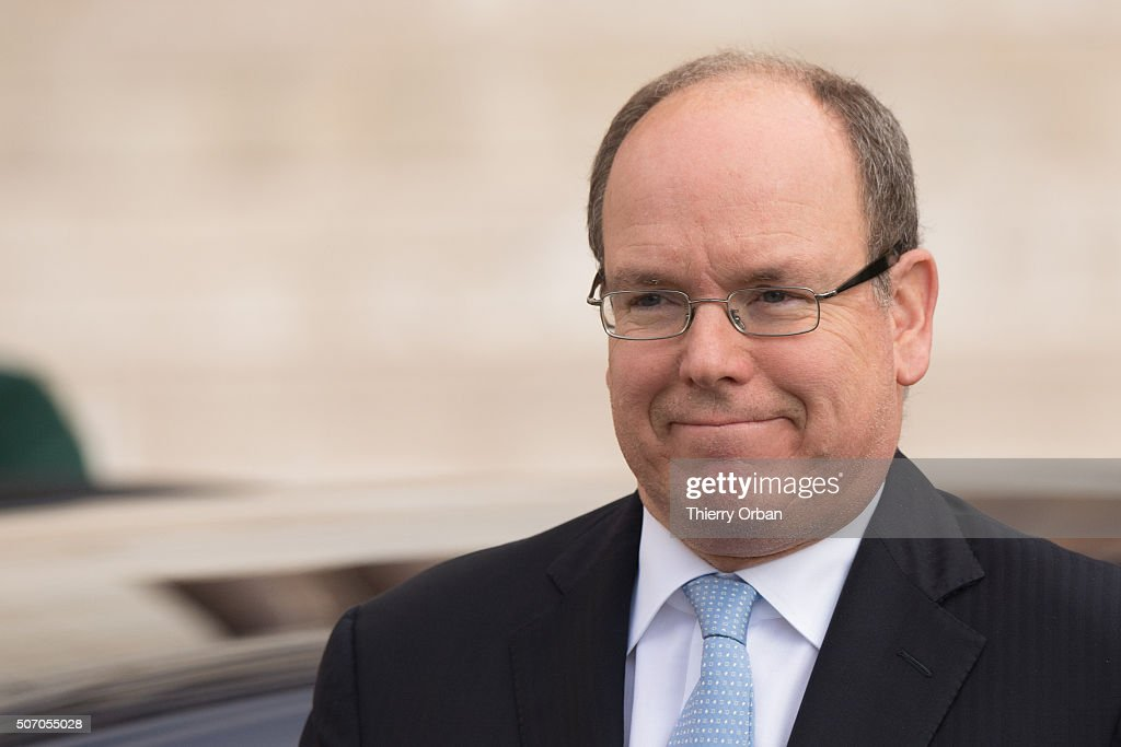 Prince Albert II of Monaco attends the Ceremony of the Sainte-Devote, the patron saint of the Principality of Monaco and Corsica on January 27, 2015 in Monaco.