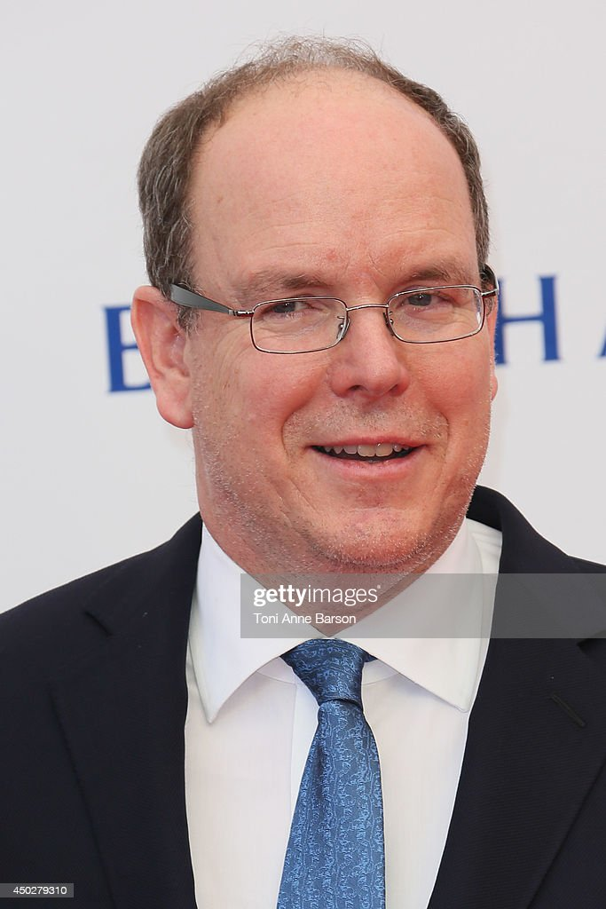 Prince Albert II of Monaco attends the 'Children of the Light' World Premiere at the Grimaldi Forum on June 8, 2014 in Monte-Carlo, Monaco.