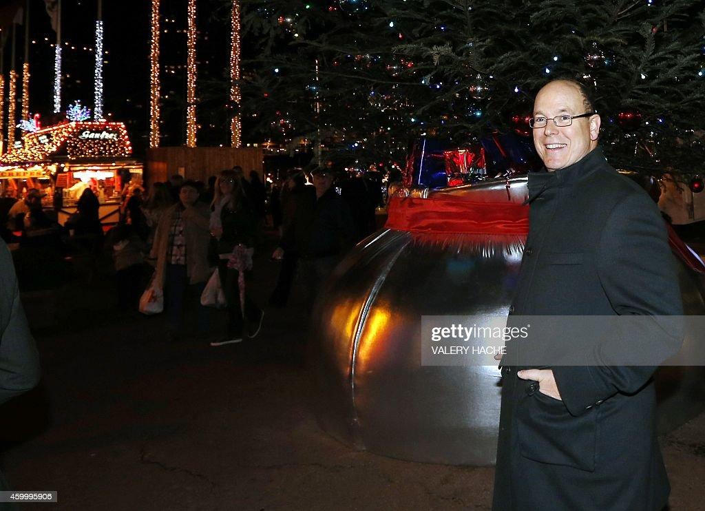 MONACO-CHRISTMAS-MARKET : News Photo