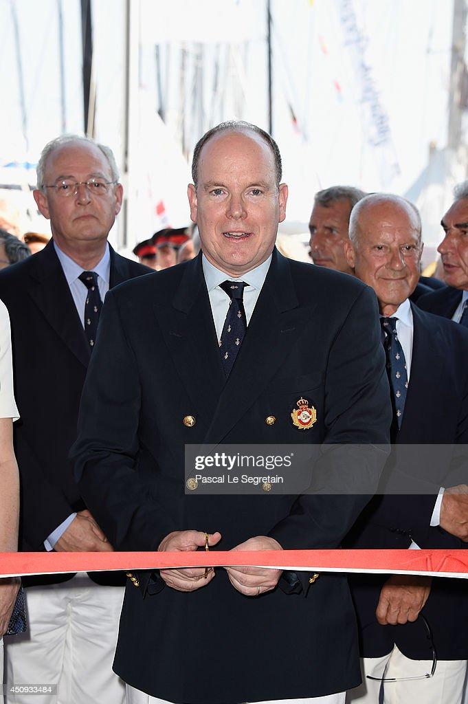 Prince Albert II of Monaco attends the Monaco Yacht Club (YCM) Opening on June 20, 2014 in Monte-Carlo, Monaco.