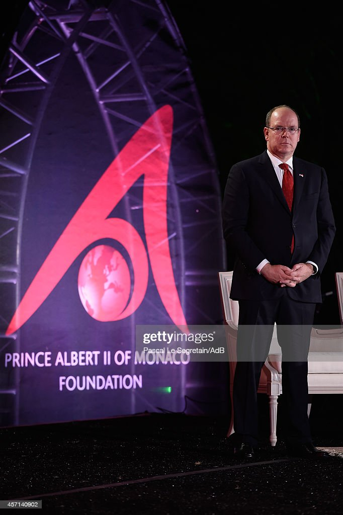 Prince Albert II of Monaco attends the 'Prince Albert II of Monaco's Foundation' Award Ceremony on October 12, 2014 in Palm Springs, California.