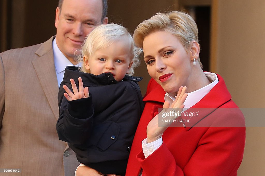 MONACO-CHRISTMAS-PEOPLE-ROYALS : News Photo