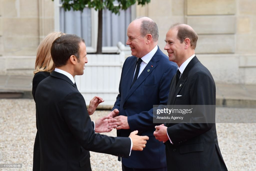 Heads of State and Government at Elysee Palace after the tribute : ニュース写真