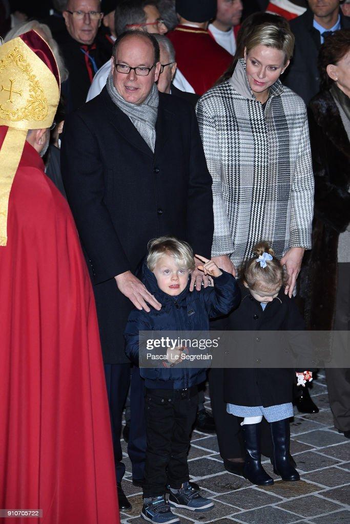 Ceremony Of The Sainte-Devote In Monaco : ニュース写真