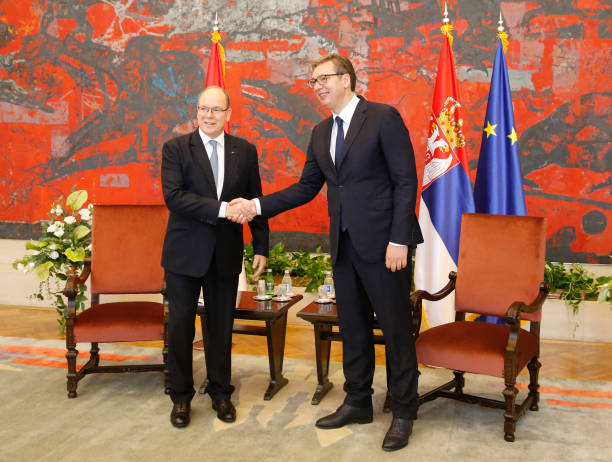 SRB: H.S.H. Prince Albert Of Monaco : Official Visit In Belgrade