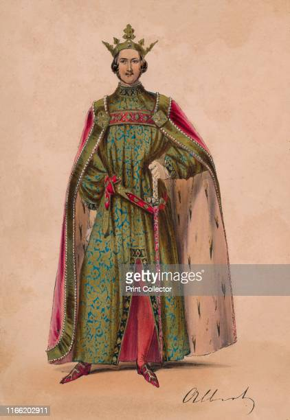 Prince Albert in costume as Plantagenet King Edward III for the Bal Costumé May 12 1842 Albert is dressed as Edward III but is wearing the...