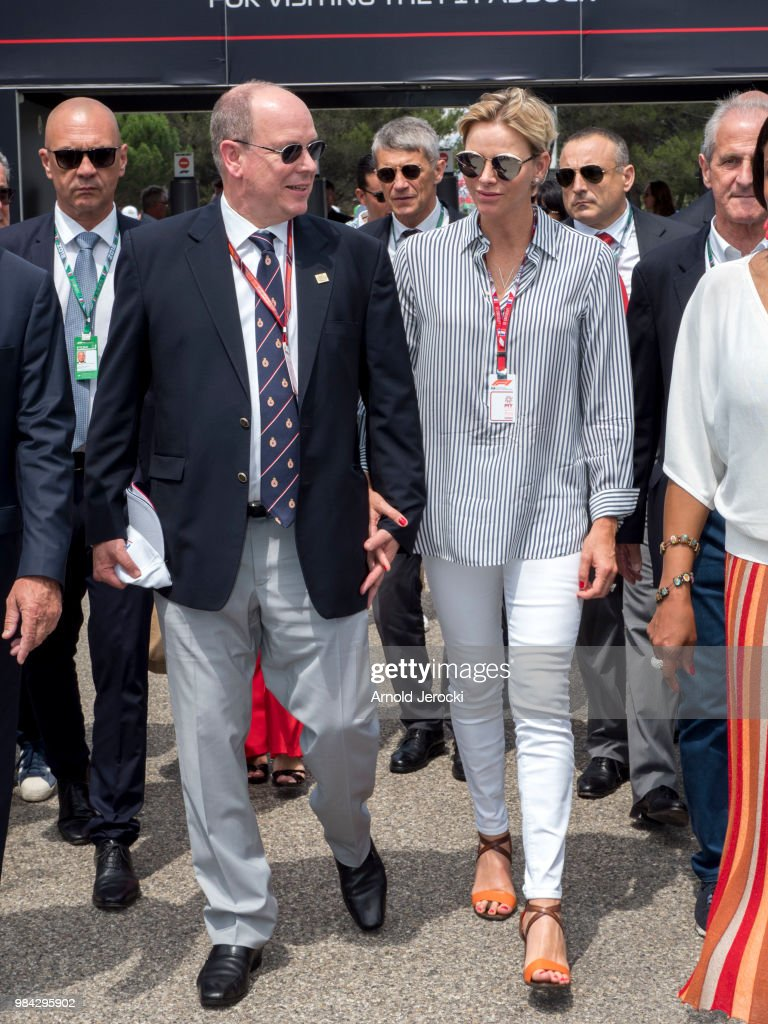 Celebrities At F1 Grand Prix of France