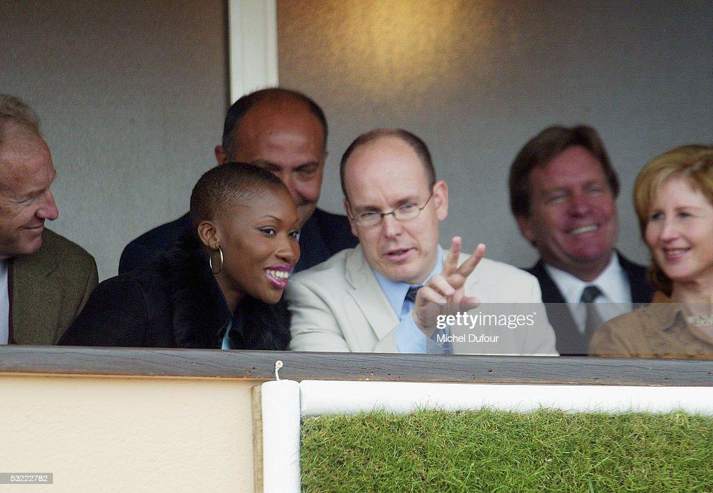 Prince Albert Of Monaco Acknowledges His Son Alexandre : News Photo