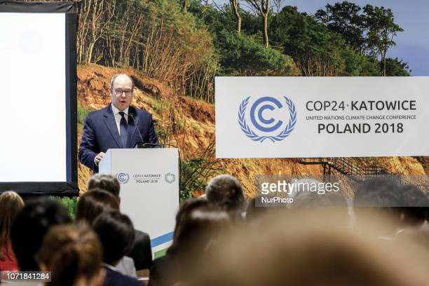 HSH Prince Albert of Monaco during COP24 Global Climate Action Event Sports For Climate Action during the UN Climate Conference COP24 in Katowice...