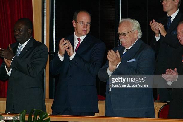 Prince Albert of Monaco & HSH Prince Rainier of Monaco