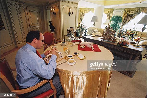 Prince Albert of Monaco in China on June 01 1999