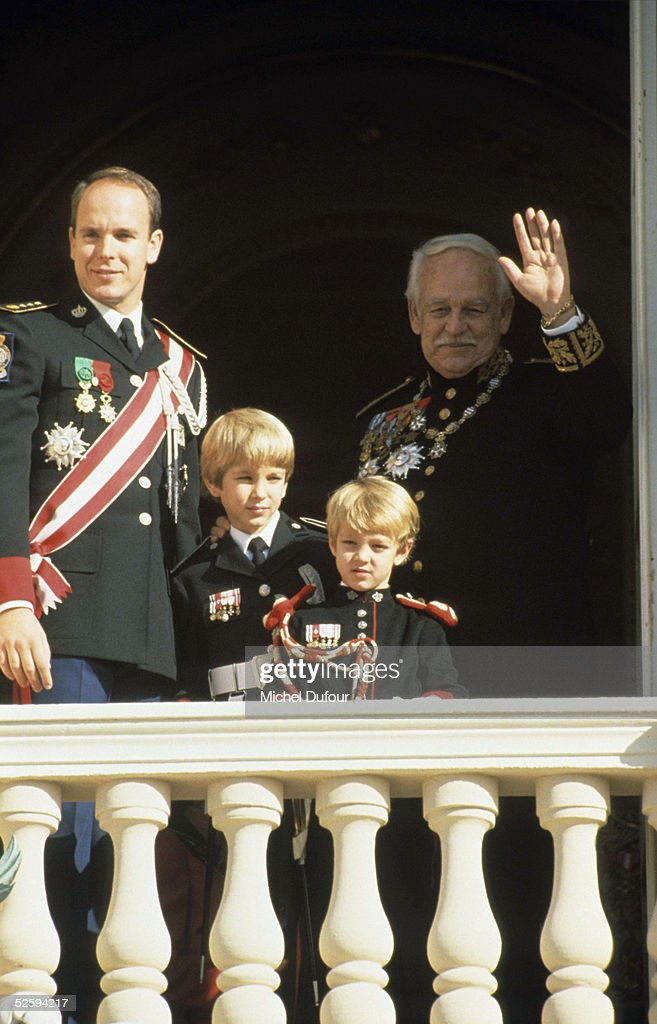 Prince Albert of Monaco is seen attending the National Day with Prince Rainier, event held at Monaco in 1996. Prince Rainier III, died on April 6, 2005 at the age of 81. Albert, 47, is next in line to the throne to take over as Monaco's ruler as Prince Albert 2d.