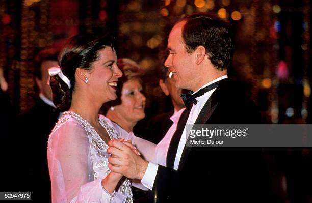 Prince Albert of Monaco is seen dancing with Princesse Caroline in Monte Carlo in 1998 Monaco With the deteriorating health of his father Prince...