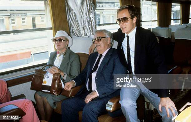 Prince Albert of Monaco is seen with Prince Rainier and Princesse Grace in 1982 Paris With the deteriorating health of his father Prince Rainier...