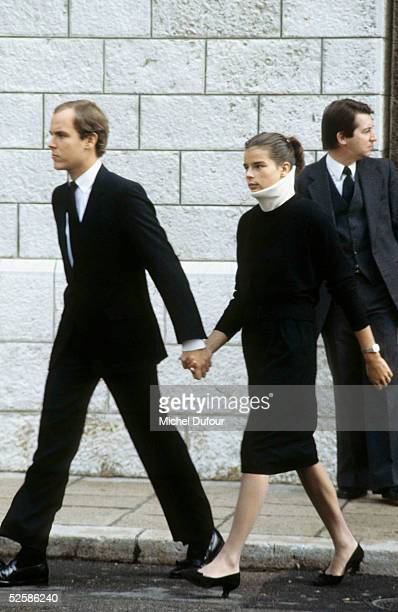 Prince Albert of Monaco is seen with Princess Stephanie at Monaco on 1982 With the deteriorating health of his father Prince Rainier Prince Albert is...