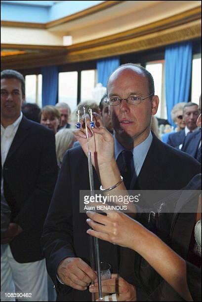 Prince Albert of Monaco on August 02 2003