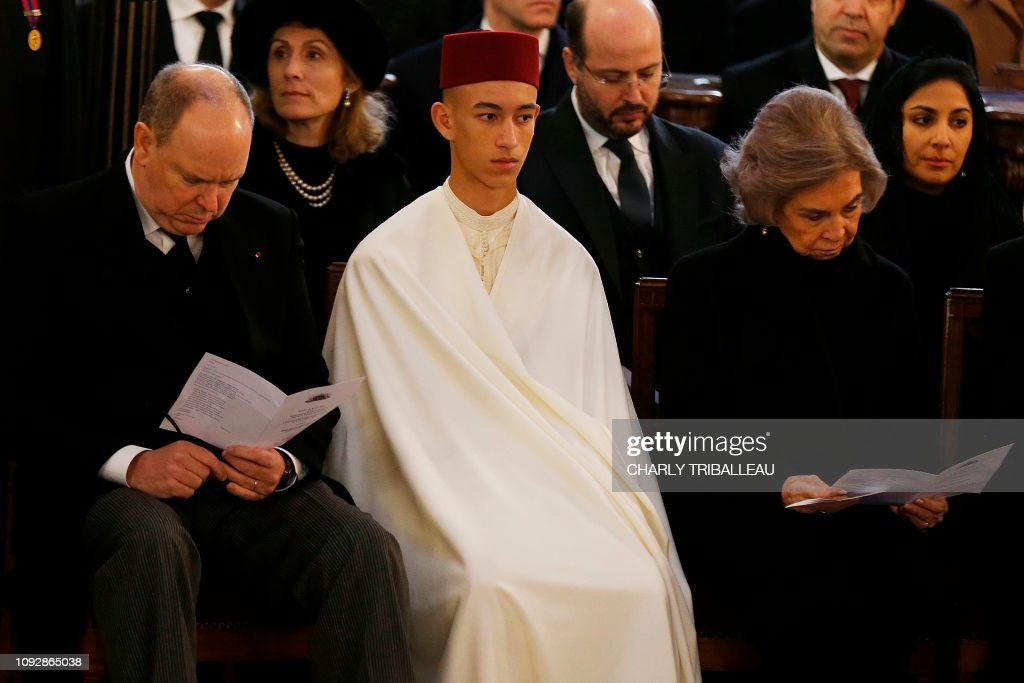 FRANCE-ROYALS-FUNERALS : News Photo
