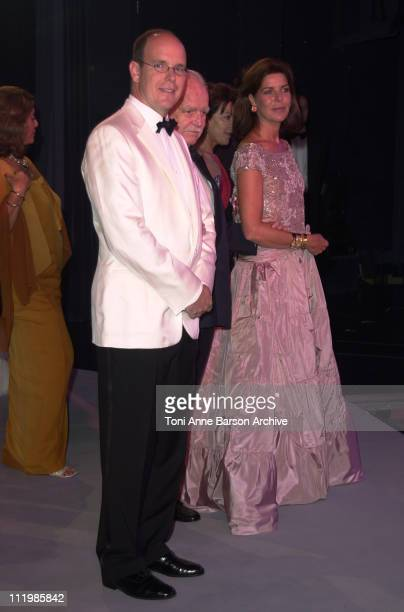 Prince Albert of Monaco Prince Rainier Princess Caroline of Hanover