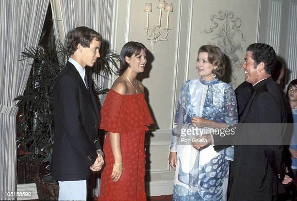 Prince Albert Princess Caroline and Princess Grace of Monaco
