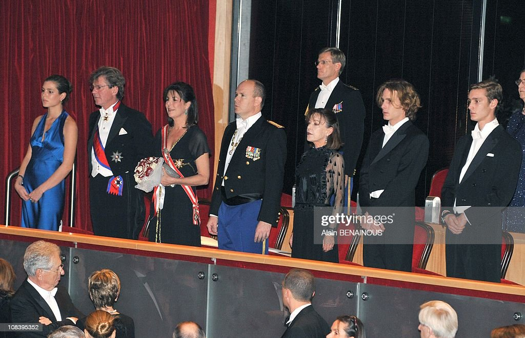 National Day in Monaco. Gala at the Grimaldi Forum in Monte Carlo, Monaco on November 19, 2008. : News Photo