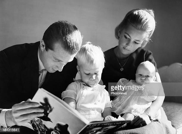 Prince Albert Princess Paola Prince Philippe and Princess Astrid of Belgium