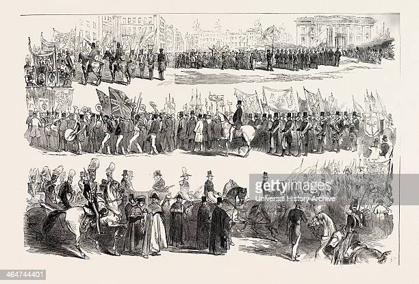 Prince Albert's Visit To Liverpool The Great Procession To The Site The Sailors' Home UK