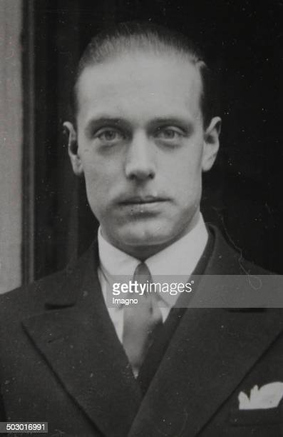 Prince Albrecht of Urach Count of Württemberg German contender to the Principality of Monaco Artist and journalist and diplomat 1930 Photograph