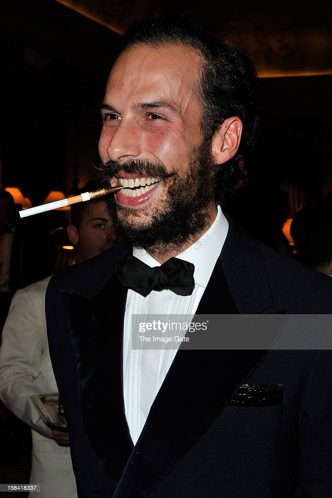 Prince Alex Postiglione attends the ASMALLWORLD Gala Dinner for Alzheimer Society at the Gstaad Palace Hotel on December 15, 2012 in Gstaad, Switzerland.