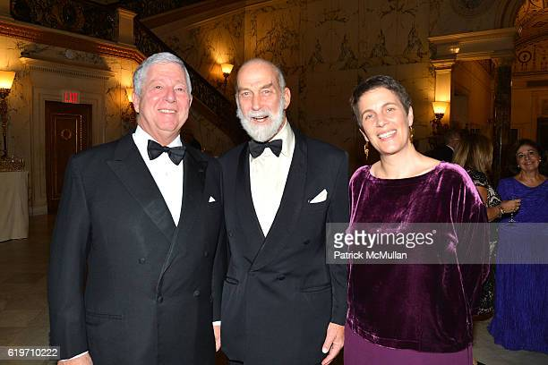 Prince Alexander of Serbia Prince Michael of Kent and Alison Rycroft attend the Oxford Philharmonic Orchestra's US Premier Performance with Artist in...