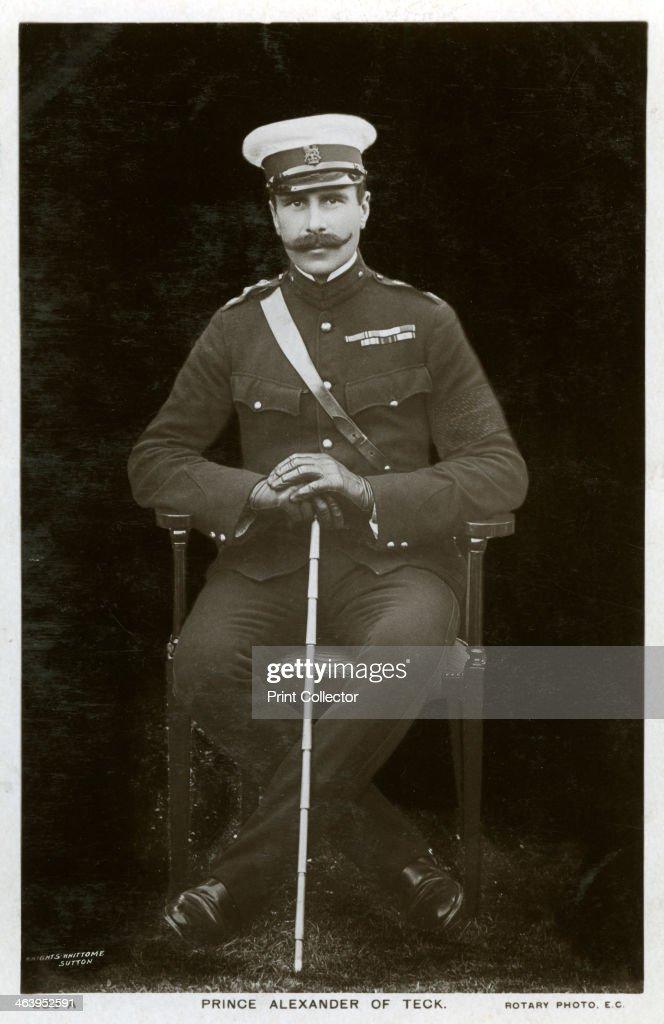 Prince Alexander of Teck, c1900s(?).Artist: Rotary Photo : News Photo
