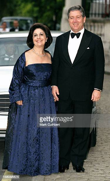 Prince Alexander Princess Katarina Of Yugoslavia Attend A Gala At Bridgewater House Prior To The Wedding Of Princess Alexia Of Greece And Carlos...