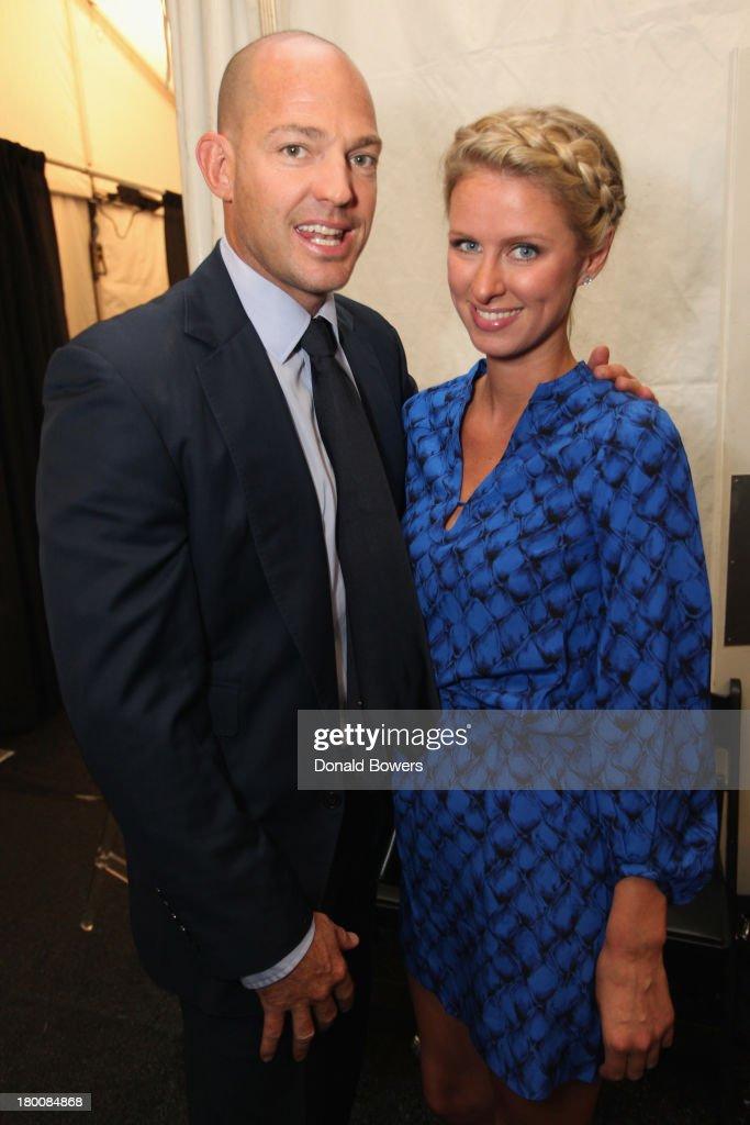Prince Alexander von Furstenberg and Nicky Hilton attend the ...