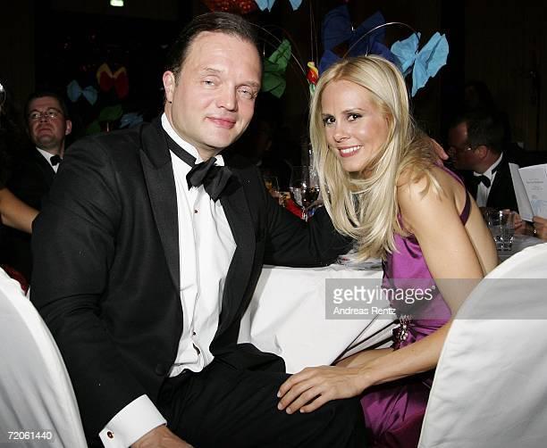 Prince Alexander zu SchaumburgLippe and his girlfriend Nadja Anna Zsoeks attend the Charity Gala 'Innocence in Danger' at the RitzCarlton Hotel on...