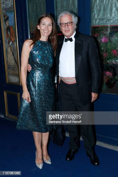 Prince Alexandre Poniatowski and his wife Princess Arianne Poniatowski attend the Laperouse Mask Ball on the occasion of the inauguration evening of...