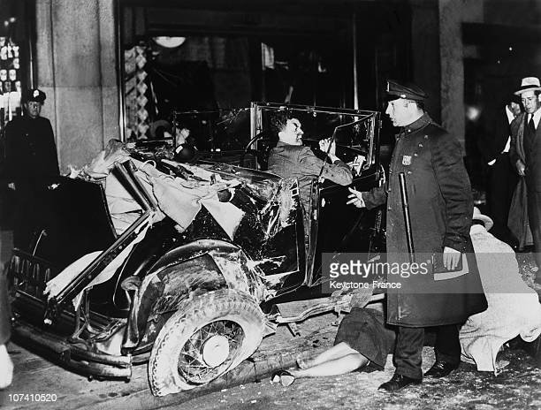 Prince Alexis Dawydoff After His Car Accident On May 1938